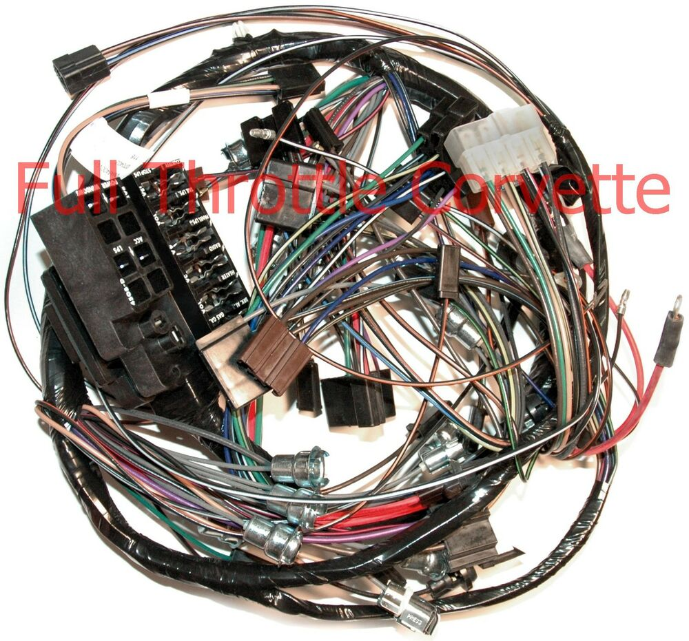 hight resolution of 1964 64 corvette dash wiring harness with back up lights new 64 corvette heater core 64 corvette wiring harness