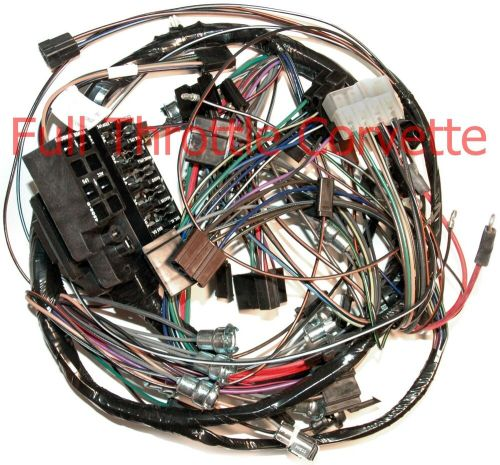 small resolution of 1964 64 corvette dash wiring harness with back up lights new 64 corvette heater core 64 corvette wiring harness