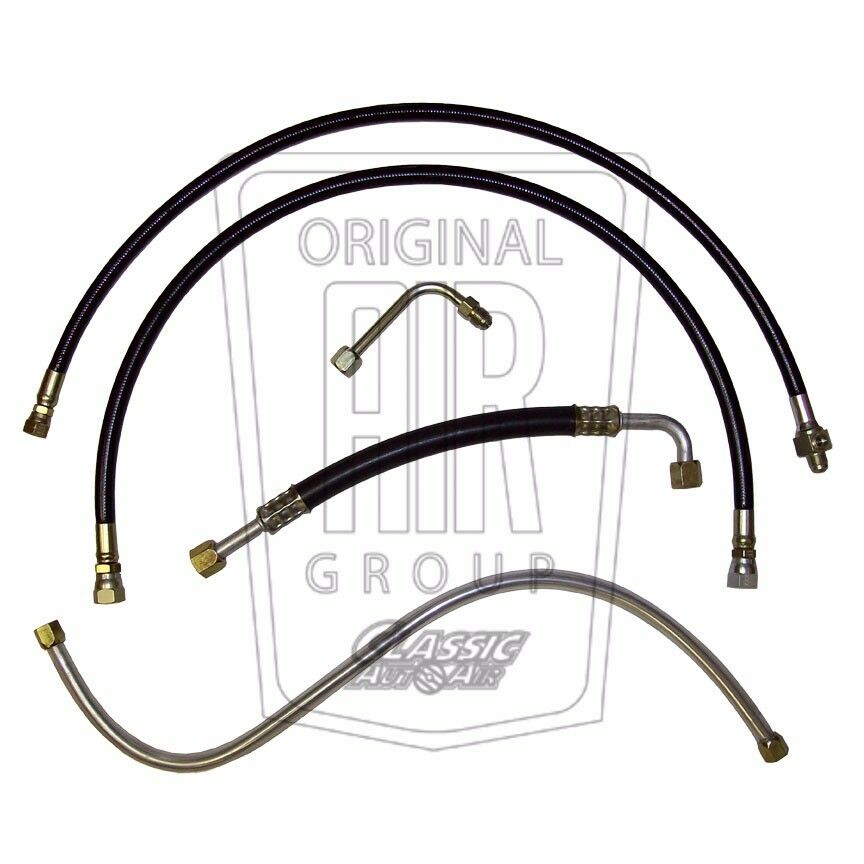 1964-1965 FORD MUSTANG A/C HOSE SET (5pc) V8 Air