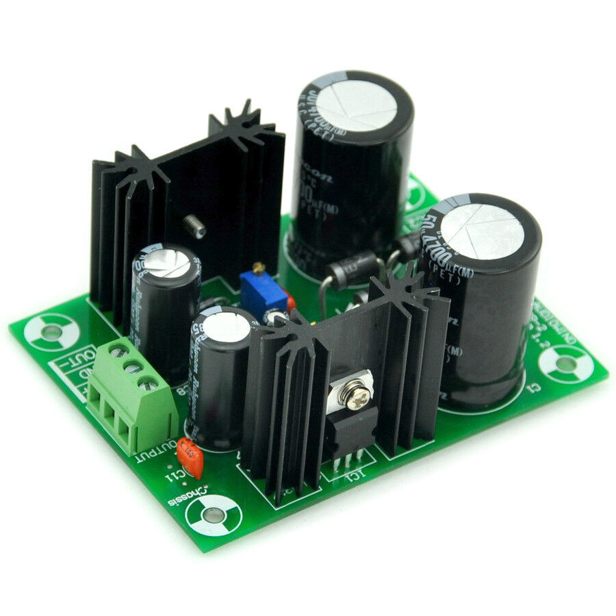 Variable Voltage Regulator Power Supply Circuit Is Designed To Supply
