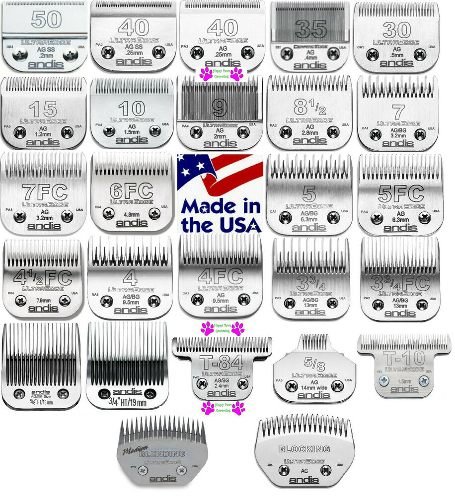 hight resolution of andis ultraedge pet grooming blade fit many oster wahl laube ag bg a5 clippers ebay