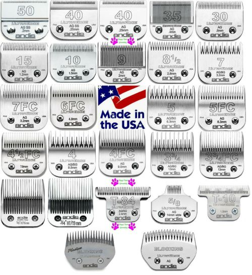 small resolution of andis ultraedge pet grooming blade fit many oster wahl laube ag bg a5 clippers ebay