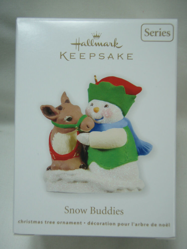 2011 Hallmark Keepsake Ornament Snow Buddies 14 In Series