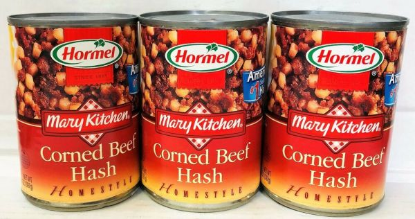 Hormel Corned Beef Hash Mary Kitchen Homestyle 3 Cans eBay
