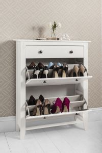 Shoe Storage Cabinet Deluxe with Storage Drawer Cotswold ...