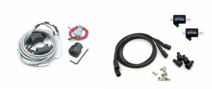 Dyanek Dyna S Electronic Ignition DS4-1 Coils DC10-1 Wires