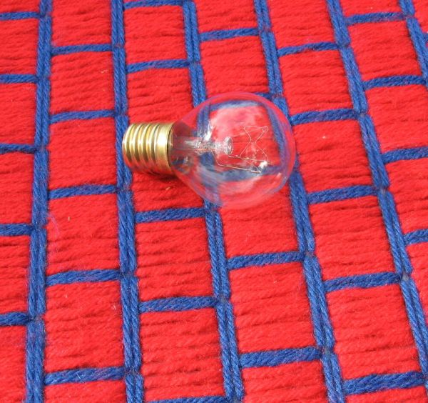Lava Lamp Light Bulb 25 Watt Type 25w Intermediate E17 Base S11 14