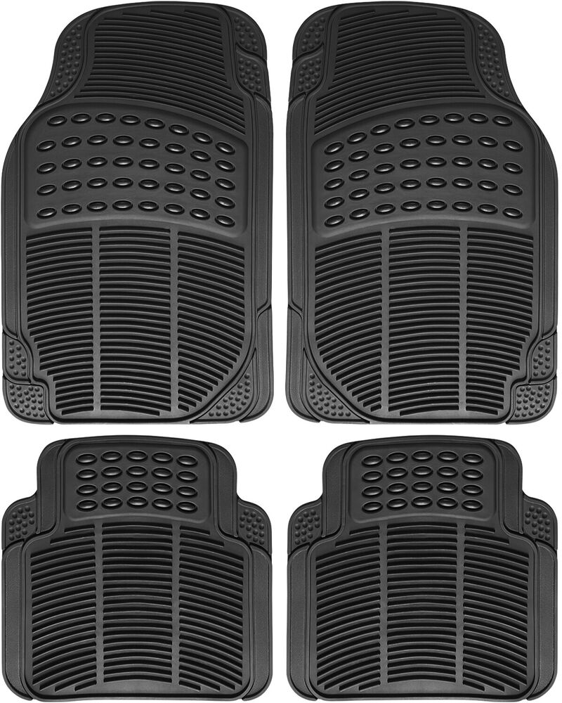 Truck Floor Mats for Toyota Tacoma 4pc Set All Weather