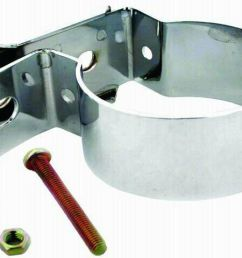 racing power company ford chrome coil bracket fits most barrel coils rpcr9650 ebay [ 861 x 1000 Pixel ]