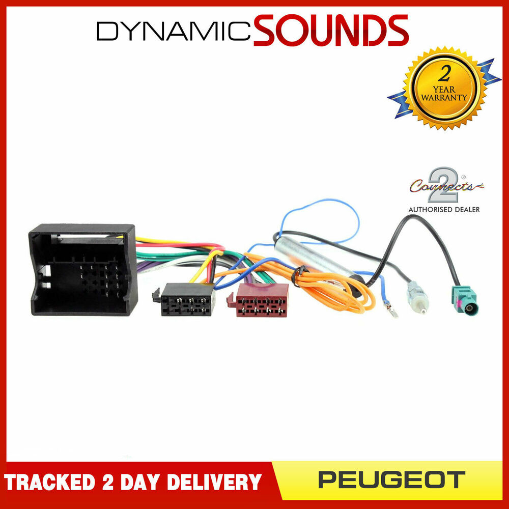 medium resolution of ct20pe03 wiring harness adaptor iso loom aerial for peugeot 207 peugeot 207 stereo wiring harness peugeot 207 wiring harness