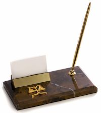 DESK ACCESSORIES - PEN STAND & BUSINESS CARD HOLDER ...