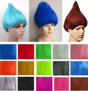 adult troll wig two gnome