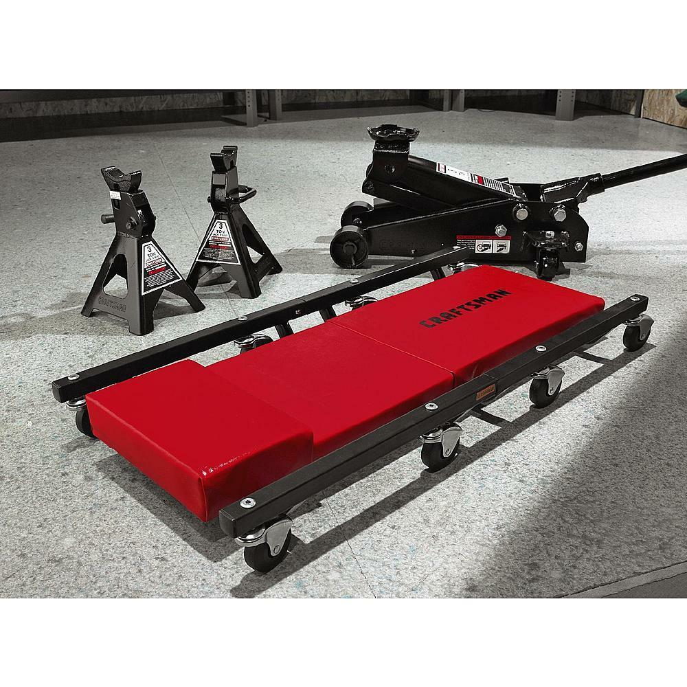 CRAFTSMANCreeper Set Kit w 3 Ton Hydraulic Floor Jack  Jack Stands Lift Auto  eBay