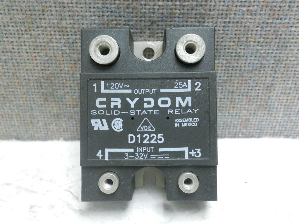 Crydom Panel Mount Solid State Relay D Used D