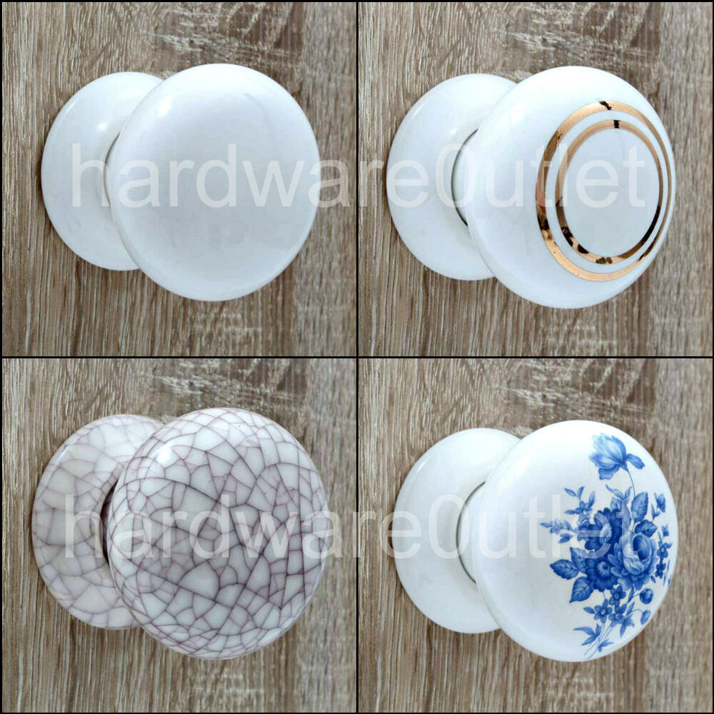 white kitchen cabinet doors ebay faucets ceramic cottage mortice door knobs or matching finger/push ...