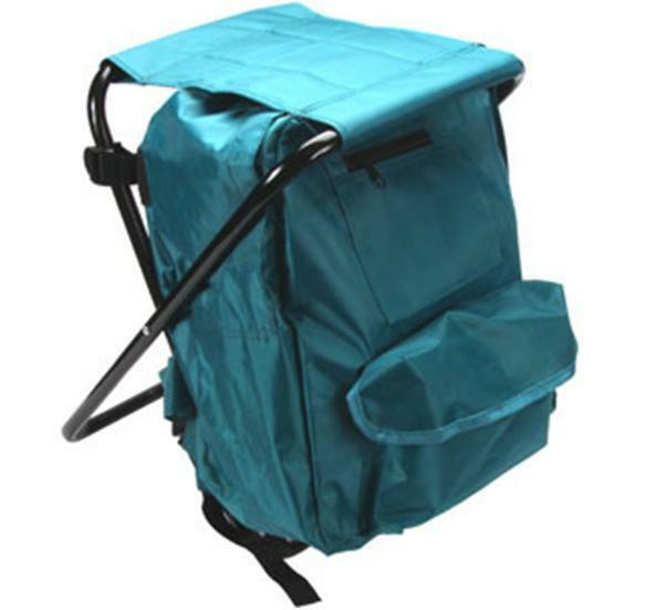 fishing chair backpack svan baby to booster high stool with rucksack seat folding camping lightweight fish | ebay