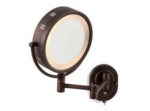 """8""""Oil Rubbed Bronze Dual Sided Surround Light Wall Mount"""