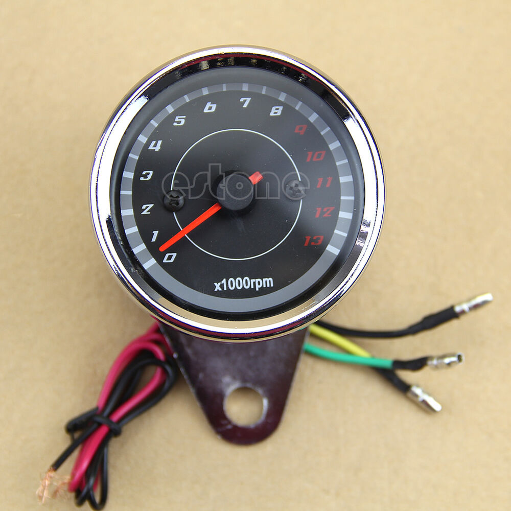 Wiring A Tachometer On Motorcycle