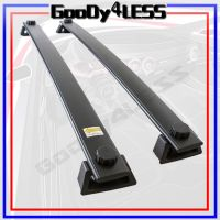 06-10 Jeep Commander Roof Rack Cross Bars Bolt-On OEM ...