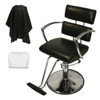Chrome Arms Professional Hydraulic Barber Chair Styling ...