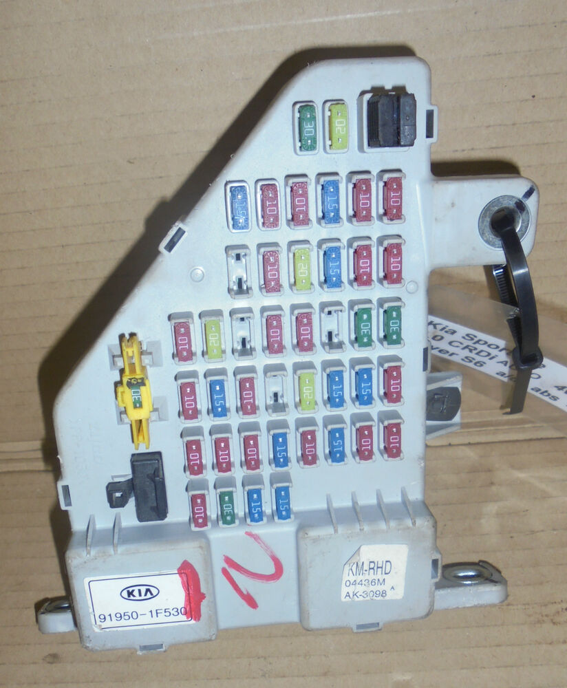 hight resolution of details about kia sportage 2005 2007 interior fuse box 91950 1f530
