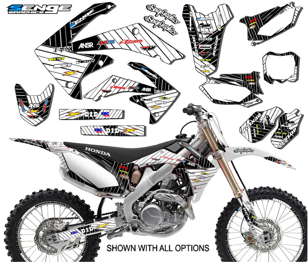 2000 2001 CR 125 250 GRAPHICS CR125 CR250 125R 250R R DECO