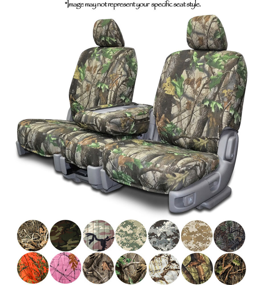 Custom Fit Camouflage Seat Covers For Ford F250 F350
