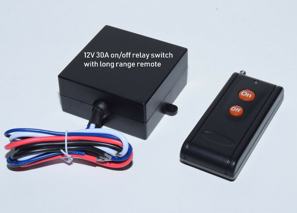 Relay Switch With Remote