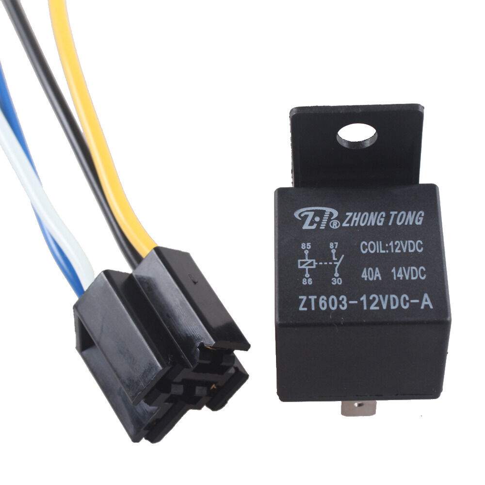 12 Volt Relay Wiring Guide