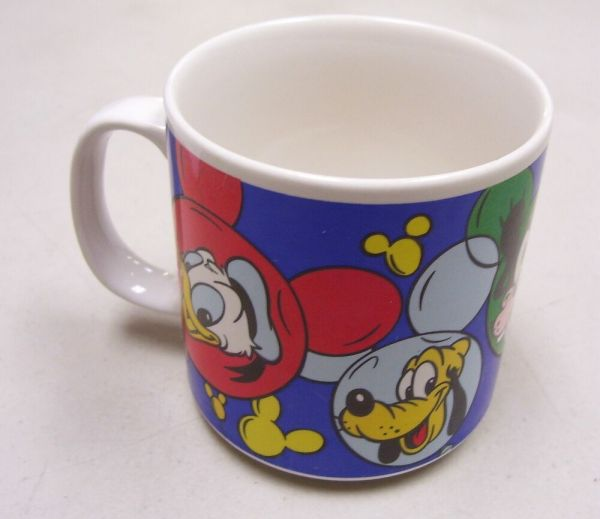 Disney Mickey Minnie Mouse Donald Duck Pluto Coffee Mug