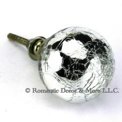 Vintage Kitchen Knobs And Pulls Ideas For Walls 6 Pc Crystal Clear Glass Cabinet ...