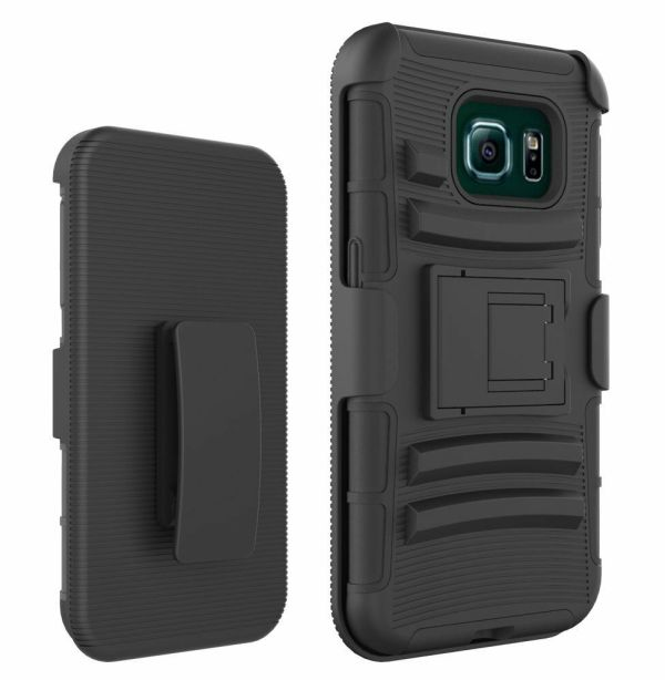 Samsung Galaxy S6 Edge Belt Clip Holster Combo Cell Phone