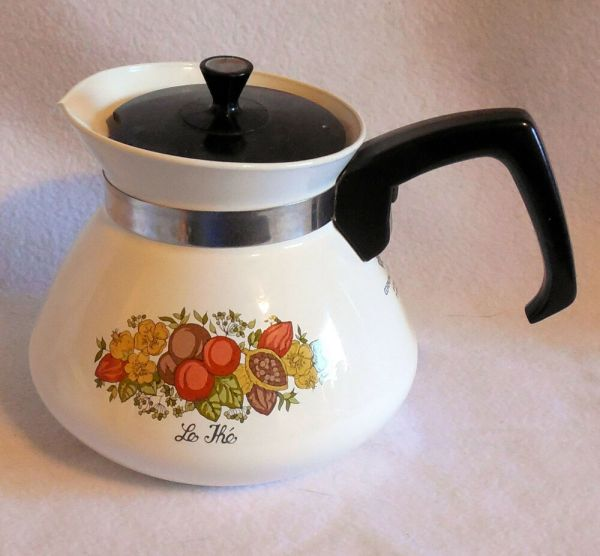 Corning Ware Coordinates Corelle Spice Of Life Teapot With