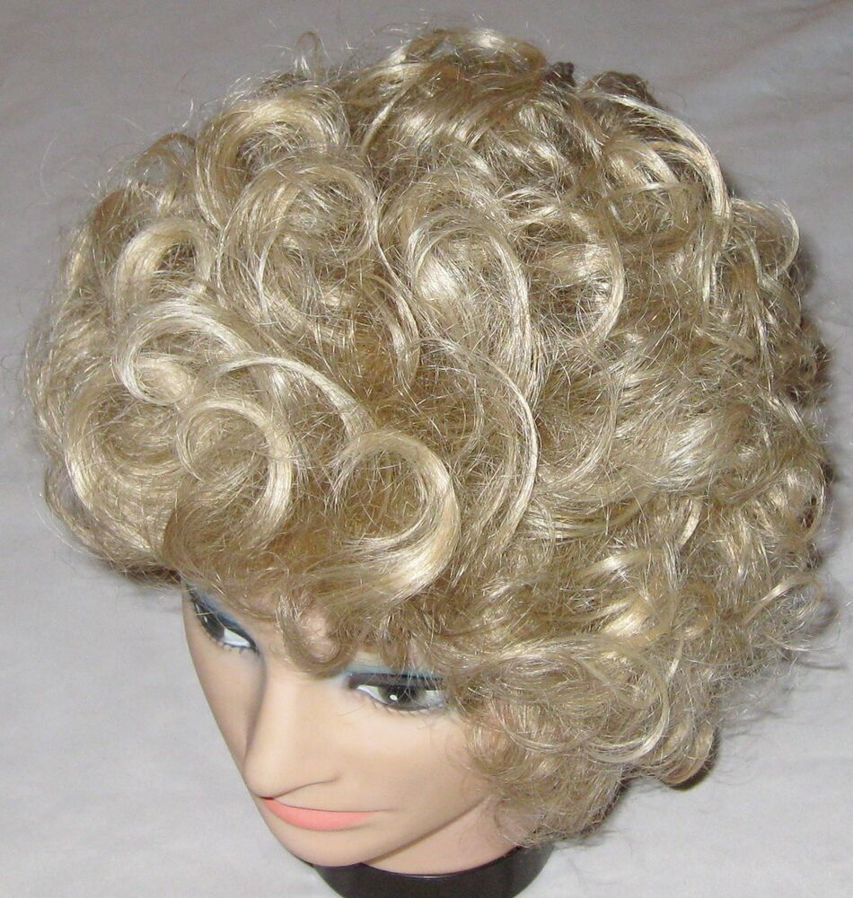 Paula Young Medium Curly Blond Shake Out Style Wig Hair EBay