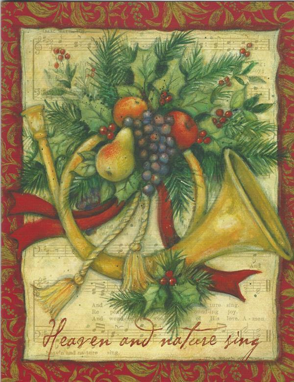 Lang Christmas Cards Box Of 21 Joy To The World By Susan
