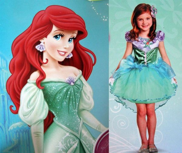 Disney Deluxe Toddler Costume-princess Ariel