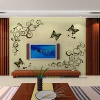 New Removable Butterfly Fly Flower Wall Stickers Decal Art ...