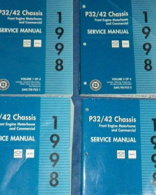 small resolution of details about 1998 chevy gmc p32 42 chassis service repair shop manual set factory oem 1st edi