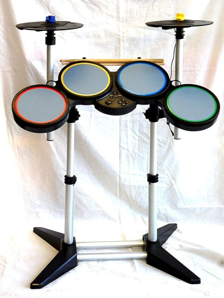 NEW Sony PS4 PS3 PS2 ROCK BAND Wireless PRO Drum Kit 2 CYMBALS Beatles 1 2 3 4 EBay