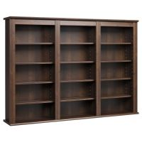 Everett Espresso Wall -hanging Media Storage Cabinet | eBay