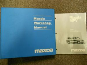 1998 Mazda MPV Van Service Repair Shop Manual Set FACTORY