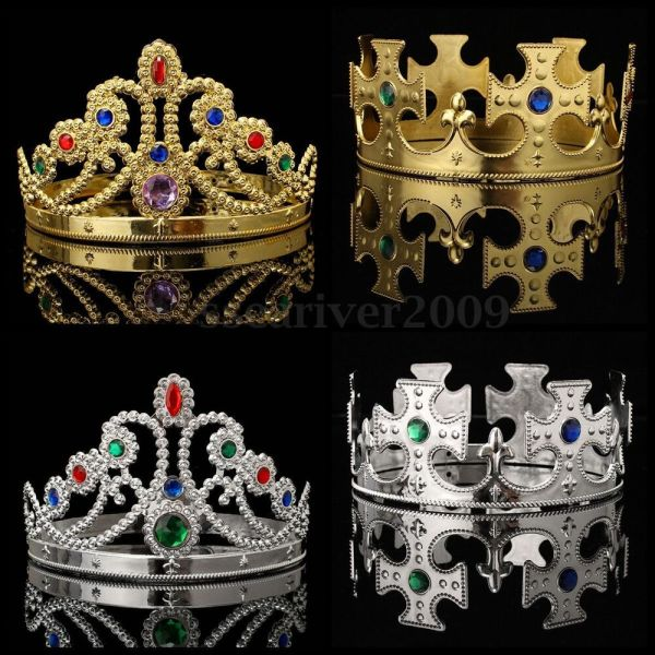 Medieval King and Queen Crowns