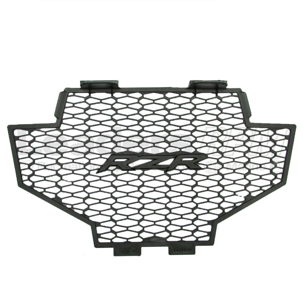 Polaris New OEM Grill Insert Front RZR Black 5439846-070