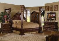 High End Master Bedroom Set Bed Solid Wood Luxury Marble ...