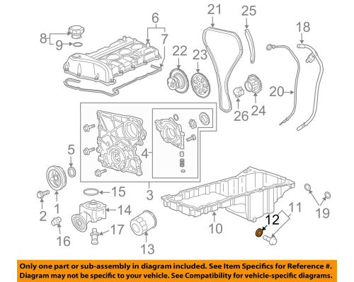 small resolution of details about gm oem engine oil pan drain plug gasket 3536966