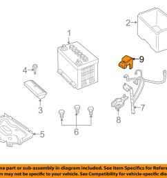 details about pontiac gm oem 05 06 gto 6 0l v8 battery positive cable terminal cover 92059571 [ 1000 x 798 Pixel ]