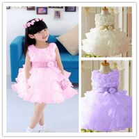Baby Toddler Girl Clothes Flower Princess Wedding Party ...
