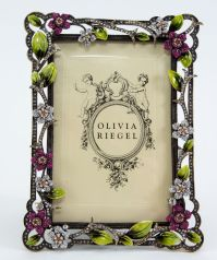 "Olivia Riegel Sophie Floral 4"" x 6"" Picture Photo Frame ..."