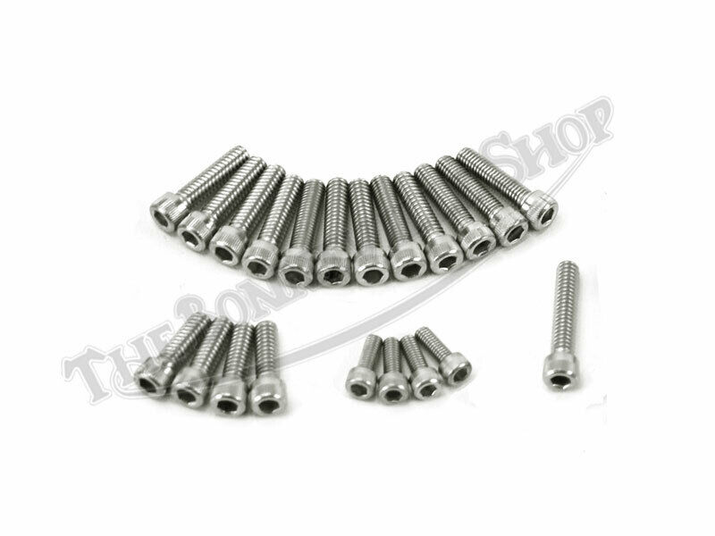 NORTON COMMANDO 750 850 MKI MKII STAINLESS ALLEN SCREW SET
