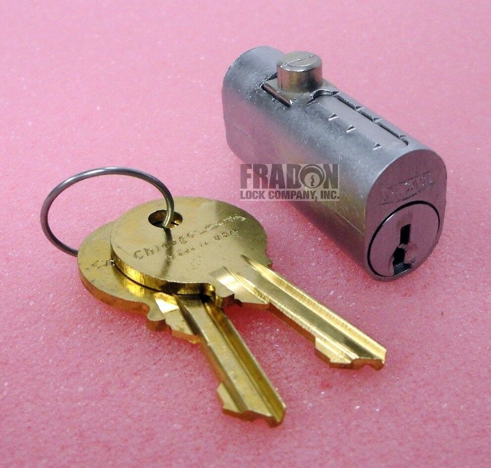 Chicago File Cabinet Lock Replacement Cylinder CEXP19DC